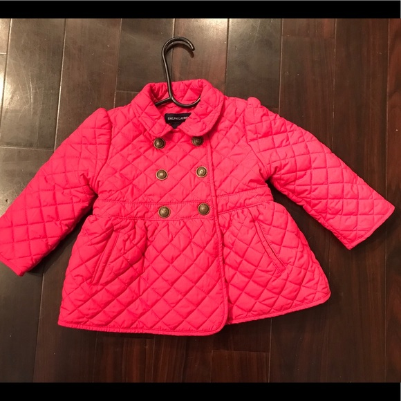 Ralph Lauren Baby Girls Quilted Jacket